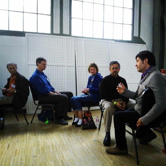 Семинар по холосценденции на Интегральной европейской конференции в Будапеште (8 мая 2014)