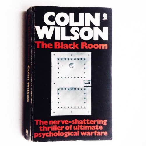 Colin Wilson. The Black Room (book cover). Photo by Tatyana Parfenova