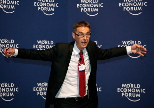 Отто Шармер на Всемирном экономическом форуме в Давосе