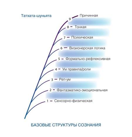 Рис. 1. Базовые структуры сознания