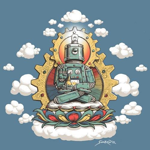 digital buddha
