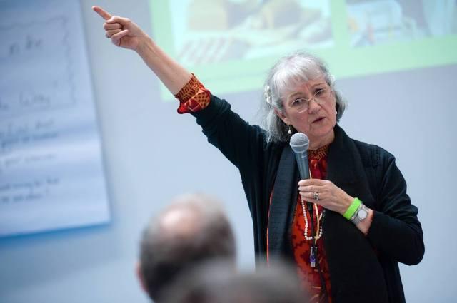Сюзанна Кук-Гройтер на I Интегральной европейской конференции (Будапешт, 2014)