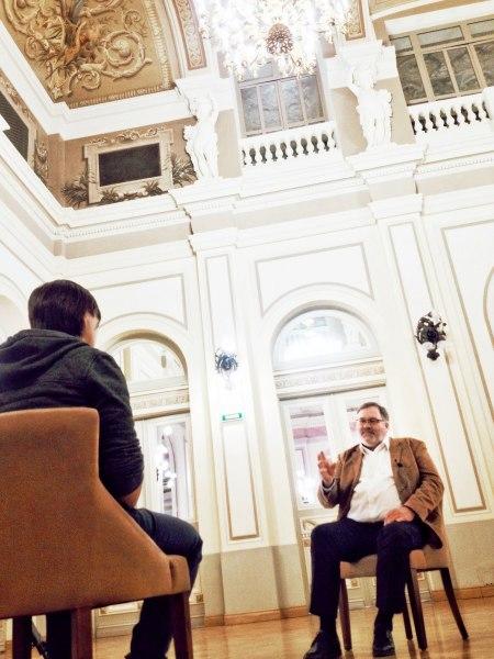 Гаральд Мори. Интервью (фото © Татьяна Парфёнова)