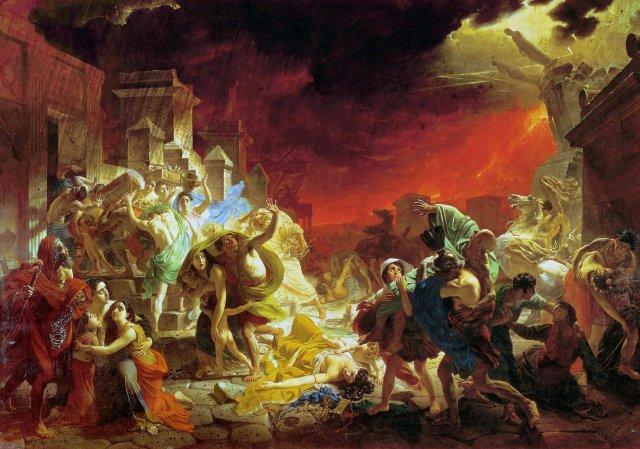 К. П. Брюллов, «Последний день Помпеи»
