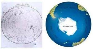 Mapa de 500 años hace pedazos la historia de la raza humana