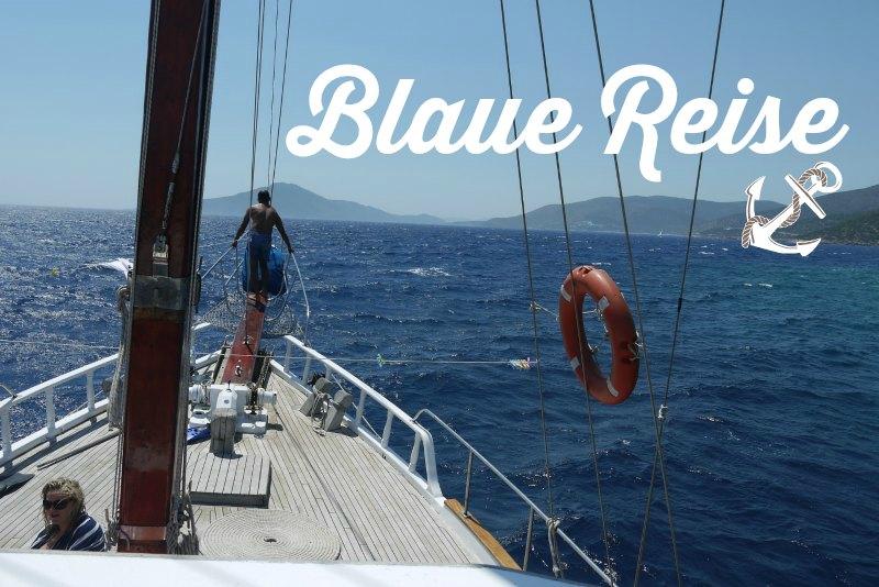 Blaue Reise im Golf von Gökova