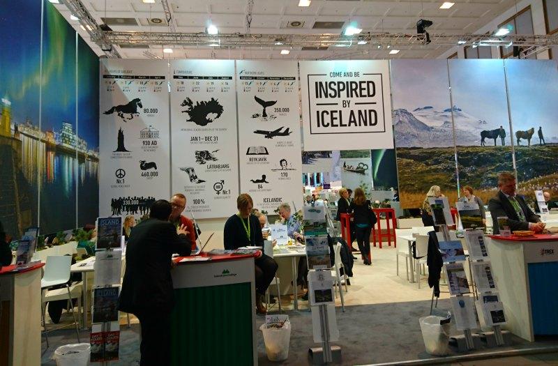 Messestand von Island auf der ITB 2016