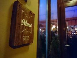 ... im Restaurant Muse.