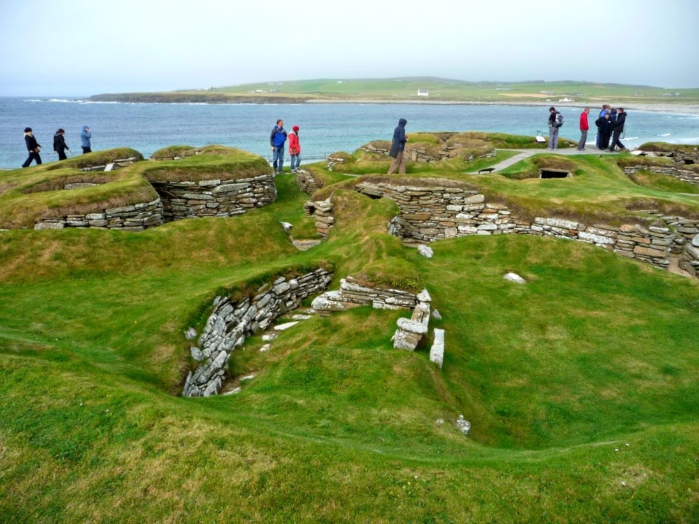 Skara Brae: Zurück in die Steinzeit auf den schottischen Orkney Inseln