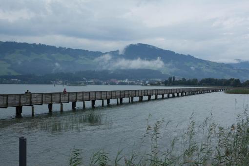 Ponte em Rapperswil