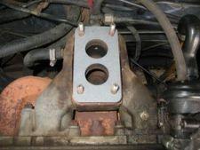Por fim, coloque a junta do carburador.
