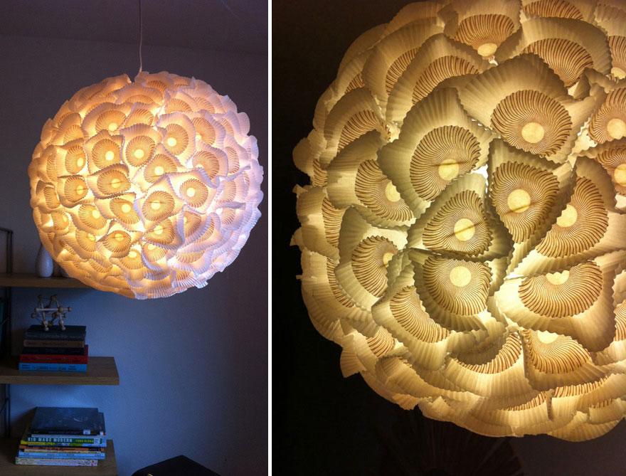 15 lámparas increíbles que puedes hacer en tu casa con cosas que ...