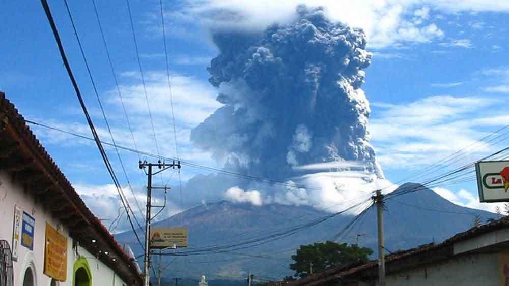 Volcán de Santa Ana. Foto de Archivo.