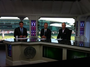 Pic - Wimbledon - Set - Chris John Brad