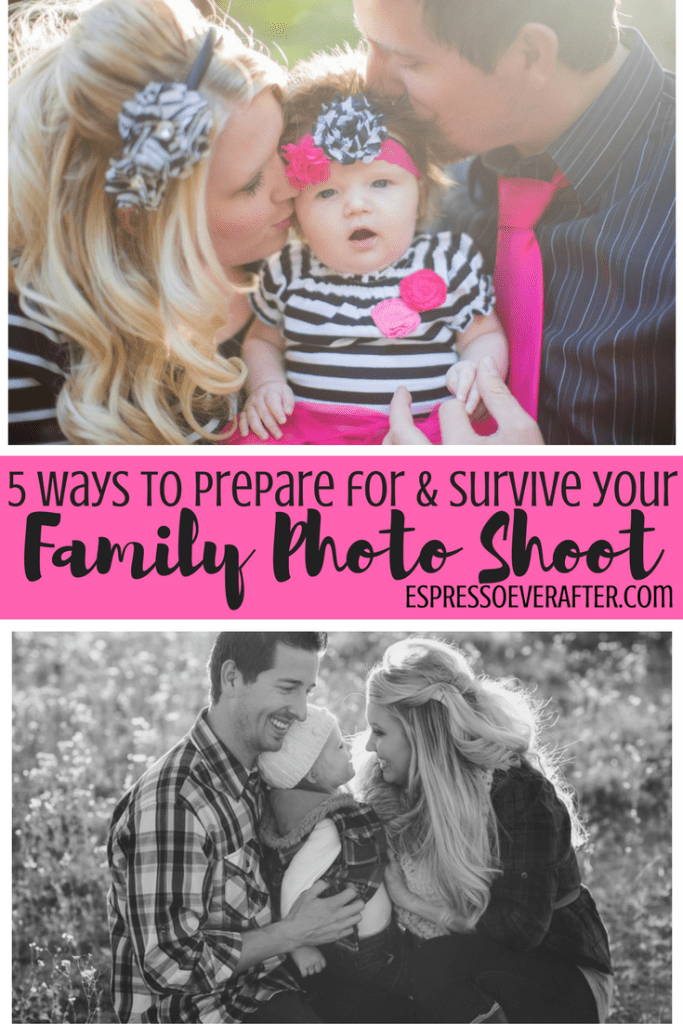 5 Ways To Prepare For & Survive Your Family Photo Shoot