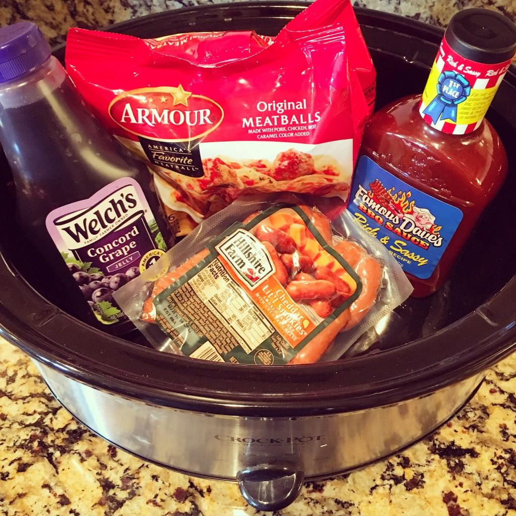 Super Bowl Snack Recipes - Lit'l Smokies & Meatballs