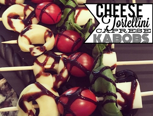 Caprese Kabobs - Super Bowl
