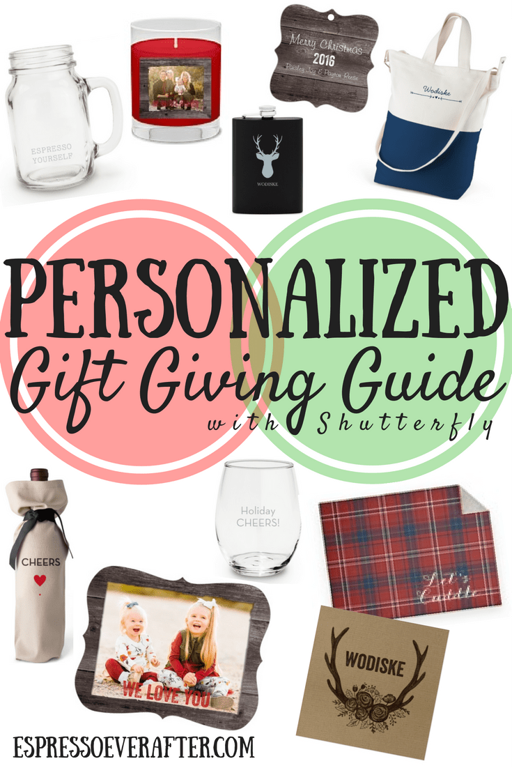 Personalized Gift Giving Guide | Shutterfly