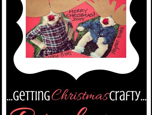 Getting Christmas Crafty | Reindeer Photo Gift