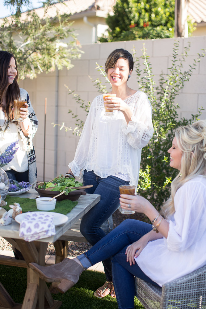 Styled Easter Brunch With Just Destiny Mag + World Market