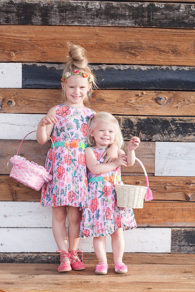 What My Girls Are Wearing | Matching Easter Dresses
