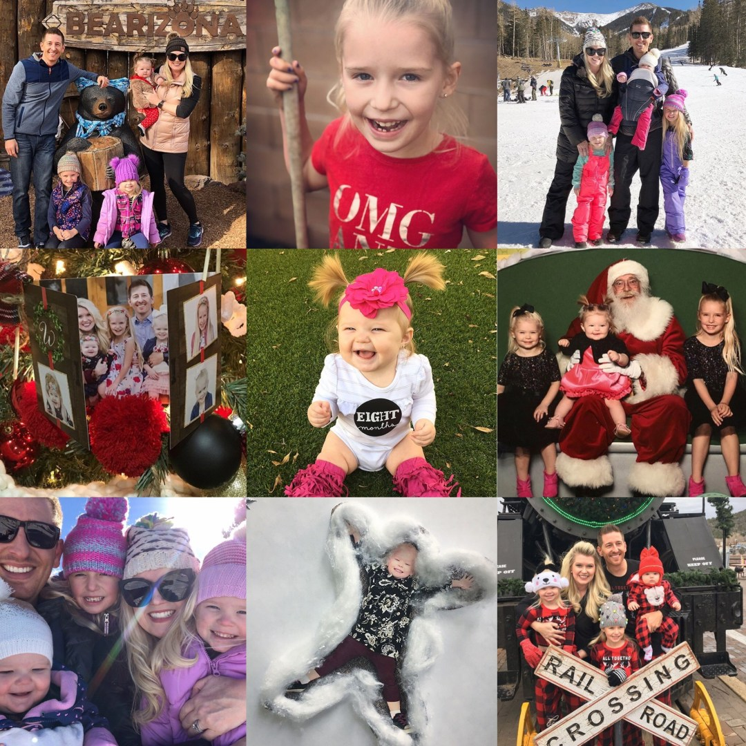 Our Month In 9 Squares is a 9-photo recap of the month, filled with photos and cherished memories. Check out our favorite moments in December 2018.