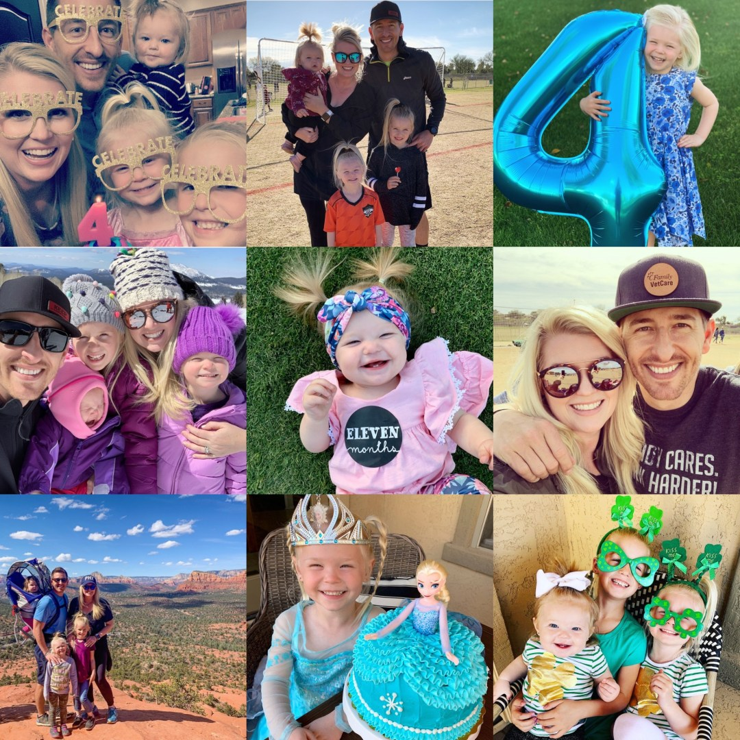 Our Month In 9 Squares is a 9-photo recap of the month, filled with photos and cherished memories. Check out our favorite moments in March 2019.