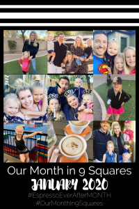Our Month In 9 Squares is a 9-photo recap of the month, filled with photos and cherished memories. Check out our favorite moments in January 2020.