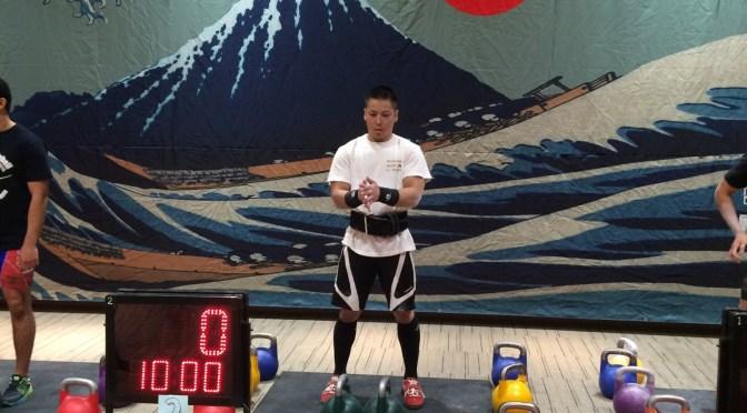 ジャパン・ケトルベル・チャンピオンシップ2015