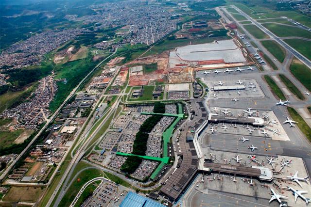 Aeroporto de Guarulhos/Cumbica (Foto GruAirport)