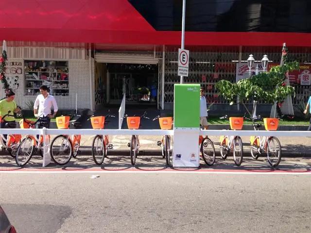 Bike Santos: Aluguel de bicicletas em Santos (Foto: Iago Tomé)