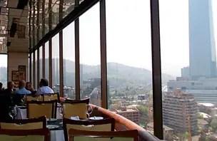 Restaurante Giratório: Para comer e ver as cordilheiras