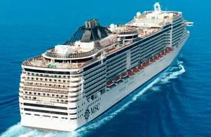 MSC Divina: Conheça um dos mais luxuosos navios do mundo
