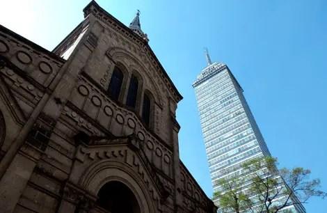 Mirador Torre Latino: Cidade do México vista de cima