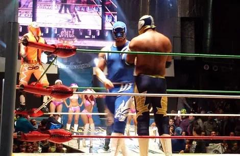 Luta livre na Cidade do México: Um programa super divertido