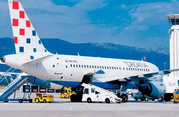 Como é voar Croatia Airlines, na Croácia