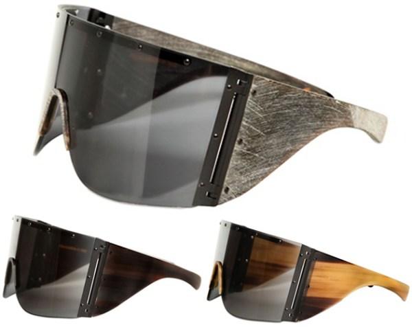 Rick Owens Horn Sunglasses Spring 2013