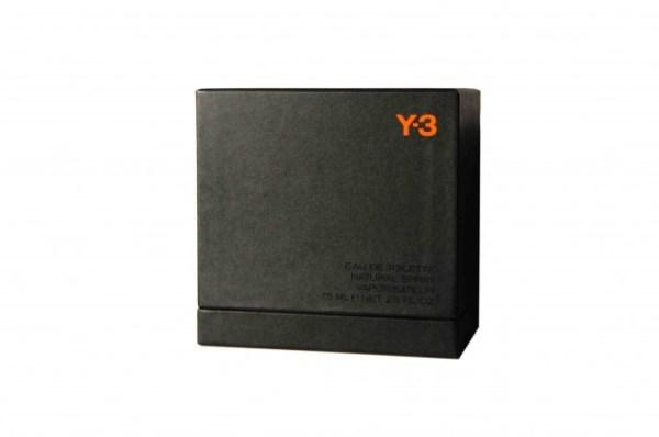 Y-3 Black Label men's fragrance designer adidas yohji yamamoto sports elemi tagete cardamom cedar lavandin pepper patchouli vetiver tonka pine vanilla valentines day sale discount