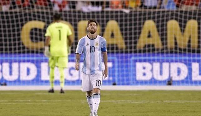 Leo Messi announces retirement from International Football after Chile loss