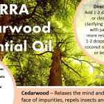 doterra cedarwood essential oil