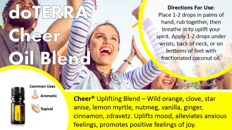 doterra cheer oil blend