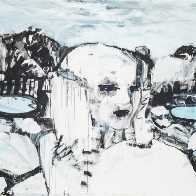 Höllengebirge I, 180 x 300 cm, 2016