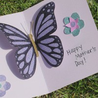 Pop-Up Butterfly Card