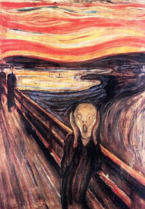 'El grito', de Edvard Munch. (Foto: EFE)