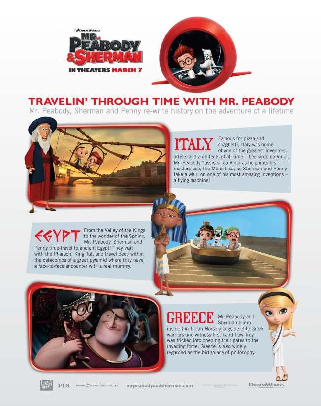 Mr. Peabody & Sherman Travel Guide