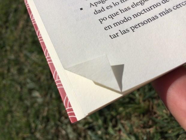 marcador de páginas mínimal y lowcost