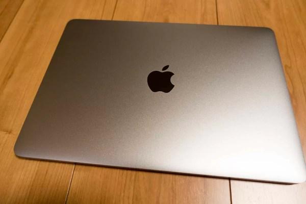 登場しましたMacBook(スペースグレイ)