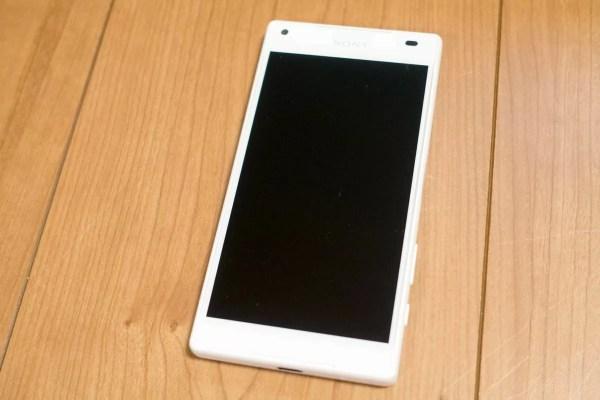 Xperia Z5 Compact(E5823)のホワイト