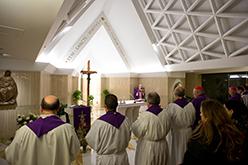 Capilla en la Casa de Santa Marta (Vaticano)