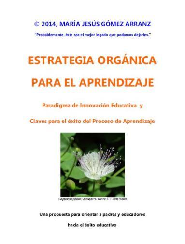 ESTRATEGIA ORGANICA PARA EL APRENDIZAJE_Portada